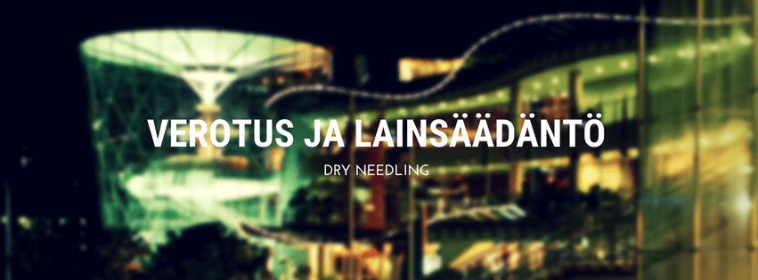 Dry needling-hoidosta verot ja lainsäädäntö